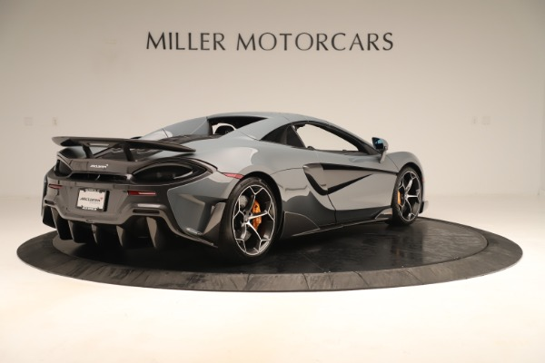 Used 2020 McLaren 600LT Spider for sale Sold at Alfa Romeo of Greenwich in Greenwich CT 06830 18