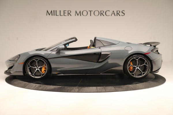 Used 2020 McLaren 600LT Spider for sale Sold at Alfa Romeo of Greenwich in Greenwich CT 06830 2