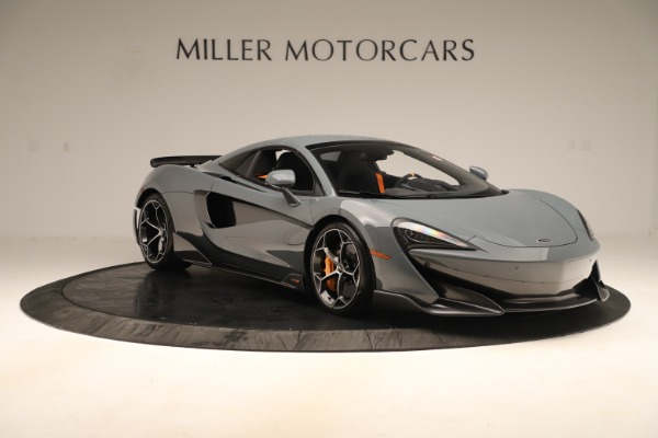 Used 2020 McLaren 600LT Spider for sale Sold at Alfa Romeo of Greenwich in Greenwich CT 06830 20