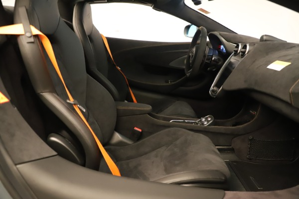 Used 2020 McLaren 600LT Spider for sale Sold at Alfa Romeo of Greenwich in Greenwich CT 06830 26