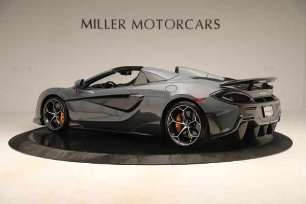 Used 2020 McLaren 600LT Spider for sale Sold at Alfa Romeo of Greenwich in Greenwich CT 06830 3