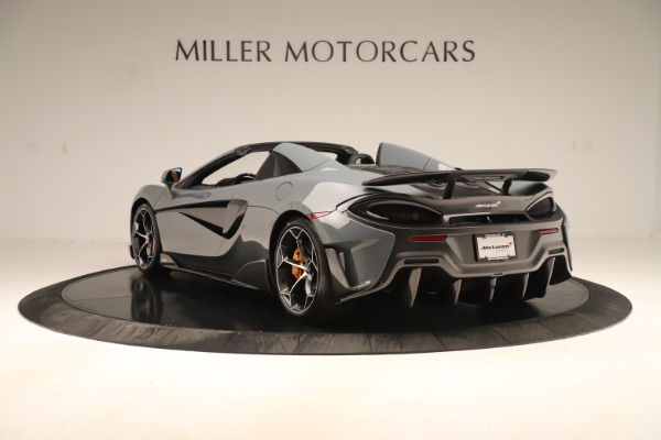 Used 2020 McLaren 600LT Spider for sale Sold at Alfa Romeo of Greenwich in Greenwich CT 06830 4