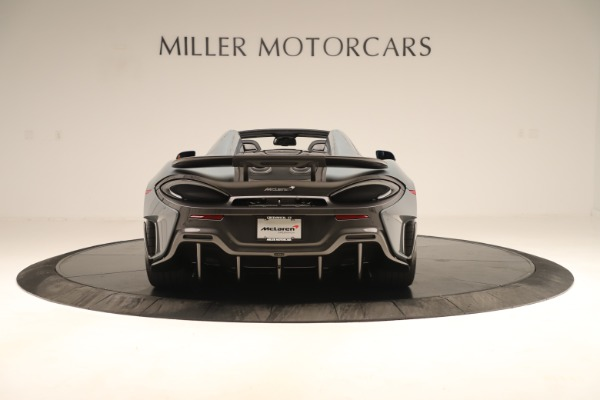 Used 2020 McLaren 600LT Spider for sale Sold at Alfa Romeo of Greenwich in Greenwich CT 06830 5