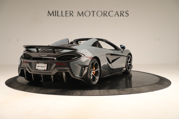 Used 2020 McLaren 600LT Spider for sale Sold at Alfa Romeo of Greenwich in Greenwich CT 06830 6