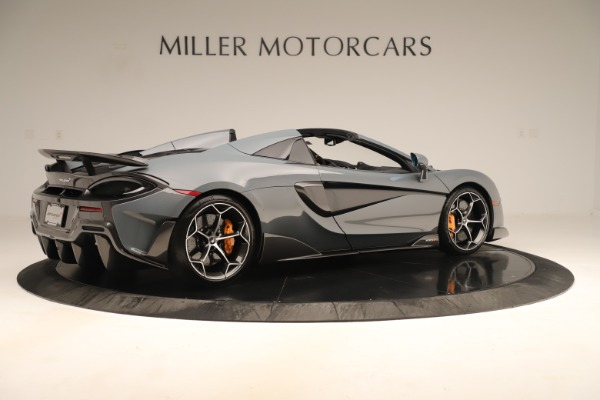 Used 2020 McLaren 600LT Spider for sale Sold at Alfa Romeo of Greenwich in Greenwich CT 06830 7