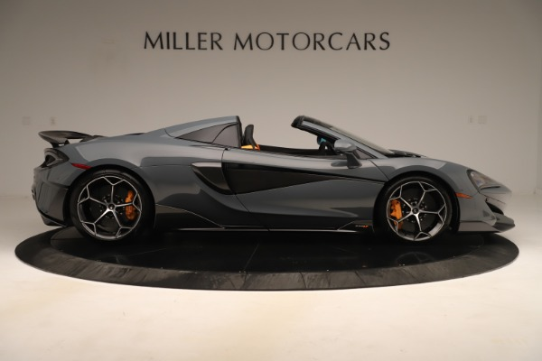 Used 2020 McLaren 600LT Spider for sale Sold at Alfa Romeo of Greenwich in Greenwich CT 06830 8