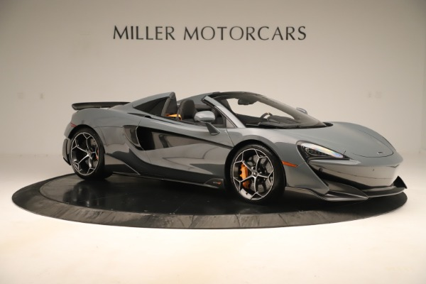 Used 2020 McLaren 600LT Spider for sale Sold at Alfa Romeo of Greenwich in Greenwich CT 06830 9