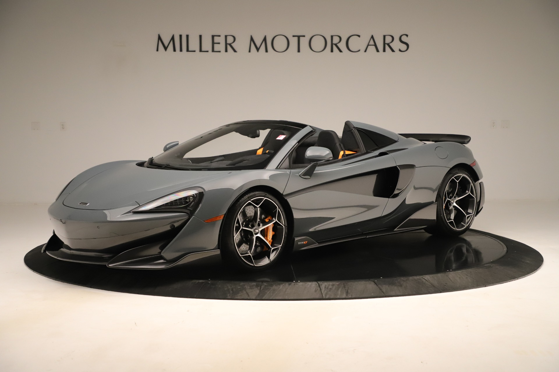 Used 2020 McLaren 600LT Spider for sale Sold at Alfa Romeo of Greenwich in Greenwich CT 06830 1