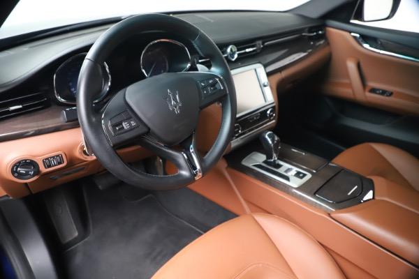 Used 2016 Maserati Quattroporte S Q4 for sale Sold at Alfa Romeo of Greenwich in Greenwich CT 06830 13