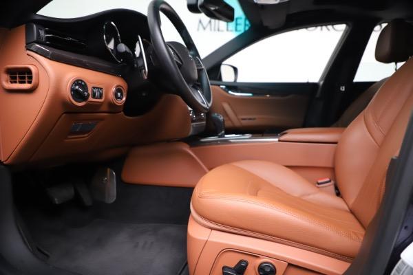 Used 2016 Maserati Quattroporte S Q4 for sale Sold at Alfa Romeo of Greenwich in Greenwich CT 06830 14