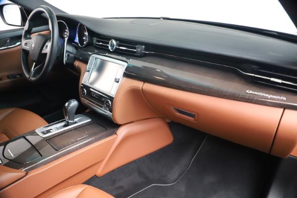 Used 2016 Maserati Quattroporte S Q4 for sale Sold at Alfa Romeo of Greenwich in Greenwich CT 06830 22