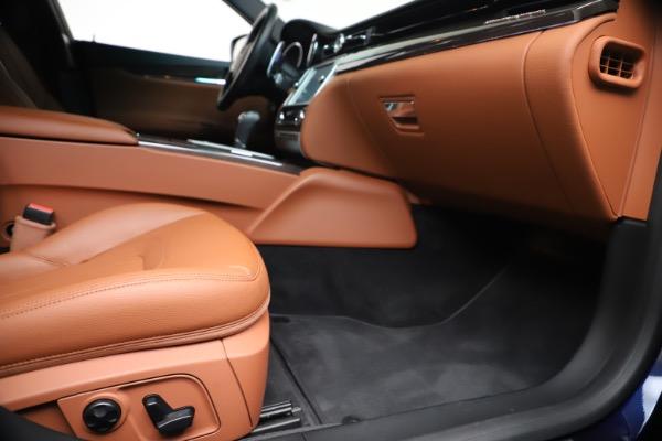 Used 2016 Maserati Quattroporte S Q4 for sale Sold at Alfa Romeo of Greenwich in Greenwich CT 06830 23