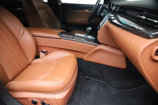 Used 2016 Maserati Quattroporte S Q4 for sale Sold at Alfa Romeo of Greenwich in Greenwich CT 06830 24