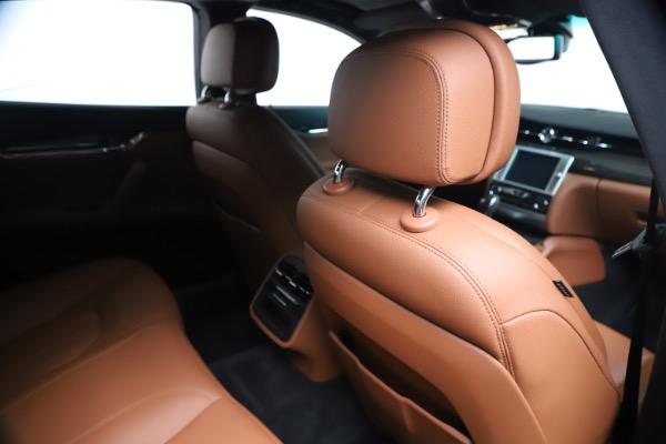 Used 2016 Maserati Quattroporte S Q4 for sale Sold at Alfa Romeo of Greenwich in Greenwich CT 06830 28