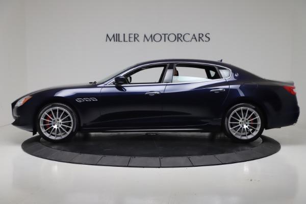 Used 2016 Maserati Quattroporte S Q4 for sale Sold at Alfa Romeo of Greenwich in Greenwich CT 06830 3