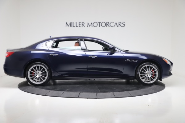 Used 2016 Maserati Quattroporte S Q4 for sale Sold at Alfa Romeo of Greenwich in Greenwich CT 06830 9