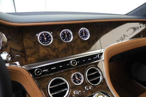 New 2020 Bentley Continental GT V8 for sale $240,935 at Alfa Romeo of Greenwich in Greenwich CT 06830 24