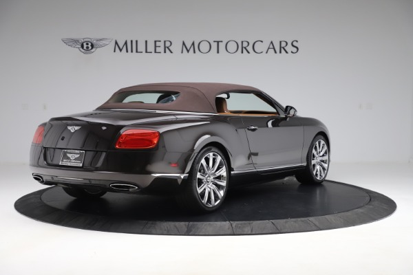 Used 2013 Bentley Continental GT W12 for sale Sold at Alfa Romeo of Greenwich in Greenwich CT 06830 16