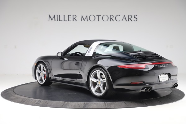 Used 2016 Porsche 911 Targa 4S for sale Sold at Alfa Romeo of Greenwich in Greenwich CT 06830 28