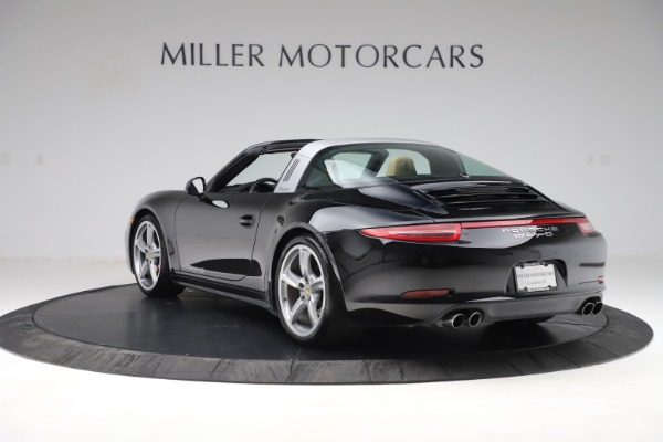 Used 2016 Porsche 911 Targa 4S for sale Sold at Alfa Romeo of Greenwich in Greenwich CT 06830 5