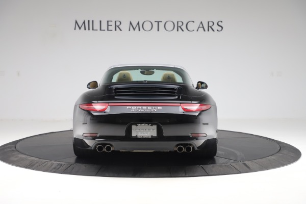 Used 2016 Porsche 911 Targa 4S for sale Sold at Alfa Romeo of Greenwich in Greenwich CT 06830 6
