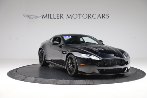 Used 2015 Aston Martin V12 Vantage S Coupe for sale $104,900 at Alfa Romeo of Greenwich in Greenwich CT 06830 10
