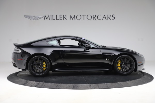 Used 2015 Aston Martin V12 Vantage S Coupe for sale $104,900 at Alfa Romeo of Greenwich in Greenwich CT 06830 8