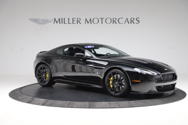 Used 2015 Aston Martin V12 Vantage S Coupe for sale $104,900 at Alfa Romeo of Greenwich in Greenwich CT 06830 9