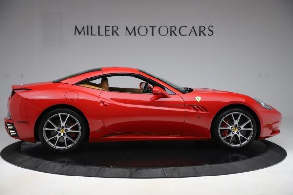Used 2013 Ferrari California 30 for sale $116,900 at Alfa Romeo of Greenwich in Greenwich CT 06830 17