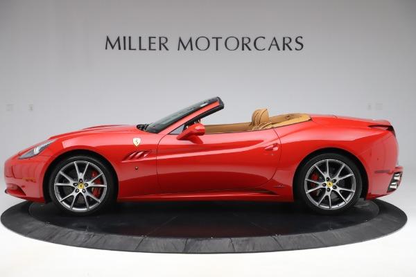 Used 2013 Ferrari California 30 for sale $116,900 at Alfa Romeo of Greenwich in Greenwich CT 06830 3