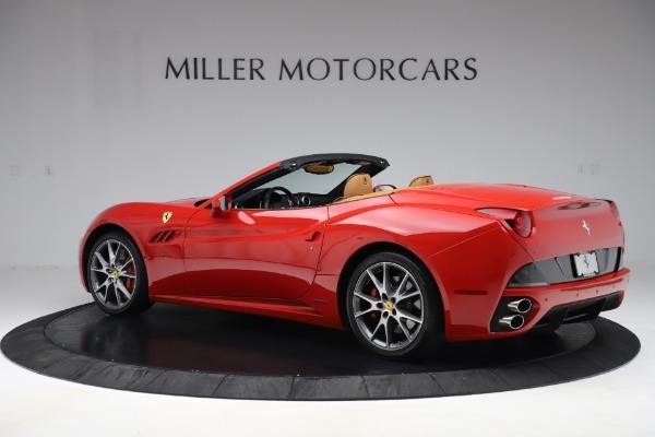 Used 2013 Ferrari California 30 for sale $116,900 at Alfa Romeo of Greenwich in Greenwich CT 06830 4