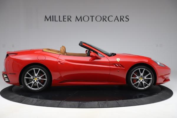 Used 2013 Ferrari California 30 for sale $116,900 at Alfa Romeo of Greenwich in Greenwich CT 06830 9