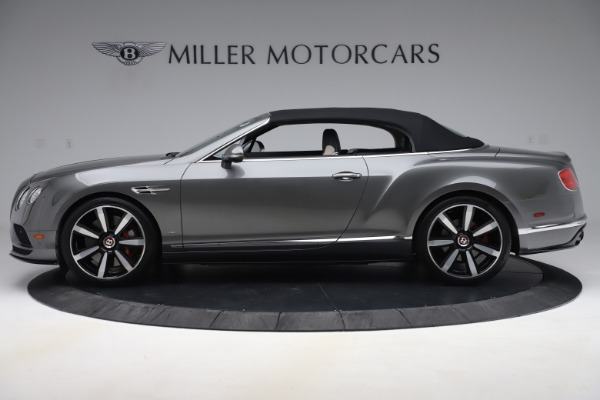 Used 2016 Bentley Continental GTC V8 S for sale Sold at Alfa Romeo of Greenwich in Greenwich CT 06830 14