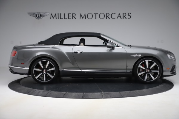 Used 2016 Bentley Continental GTC V8 S for sale Sold at Alfa Romeo of Greenwich in Greenwich CT 06830 17