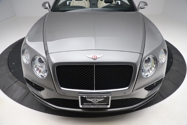 Used 2016 Bentley Continental GTC V8 S for sale Sold at Alfa Romeo of Greenwich in Greenwich CT 06830 19