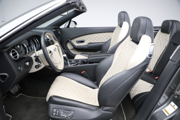 Used 2016 Bentley Continental GTC V8 S for sale Sold at Alfa Romeo of Greenwich in Greenwich CT 06830 24