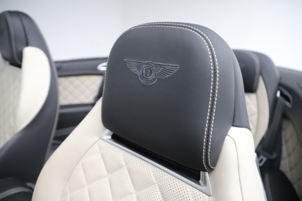 Used 2016 Bentley Continental GTC V8 S for sale Sold at Alfa Romeo of Greenwich in Greenwich CT 06830 26