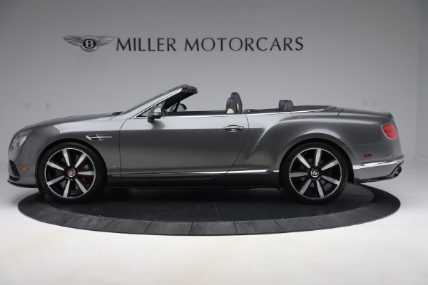 Used 2016 Bentley Continental GTC V8 S for sale Sold at Alfa Romeo of Greenwich in Greenwich CT 06830 3