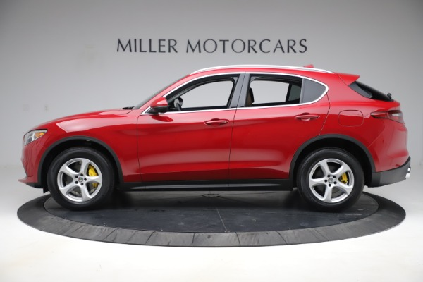 New 2019 Alfa Romeo Stelvio Q4 for sale Sold at Alfa Romeo of Greenwich in Greenwich CT 06830 3