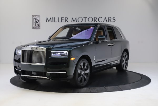 New 2020 Rolls-Royce Cullinan for sale $348,975 at Alfa Romeo of Greenwich in Greenwich CT 06830 1