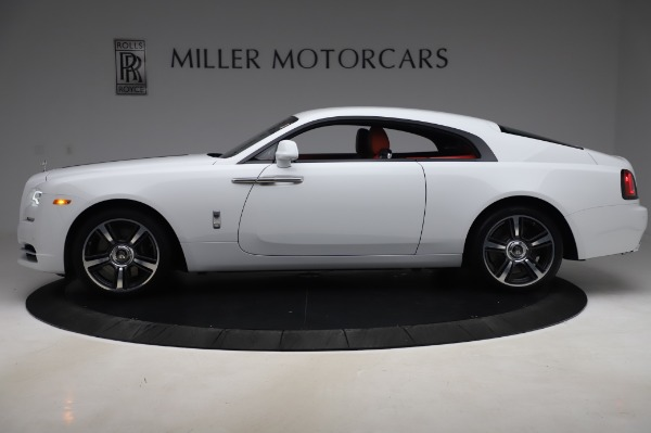 New 2020 Rolls-Royce Wraith for sale $392,325 at Alfa Romeo of Greenwich in Greenwich CT 06830 3
