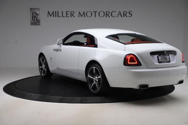 New 2020 Rolls-Royce Wraith for sale $392,325 at Alfa Romeo of Greenwich in Greenwich CT 06830 4