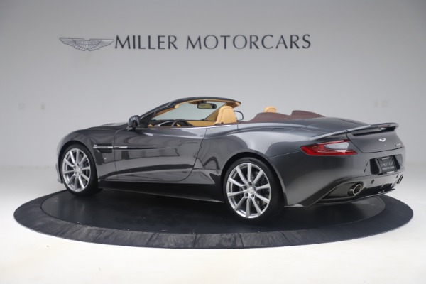 Used 2016 Aston Martin Vanquish Volante for sale Sold at Alfa Romeo of Greenwich in Greenwich CT 06830 3
