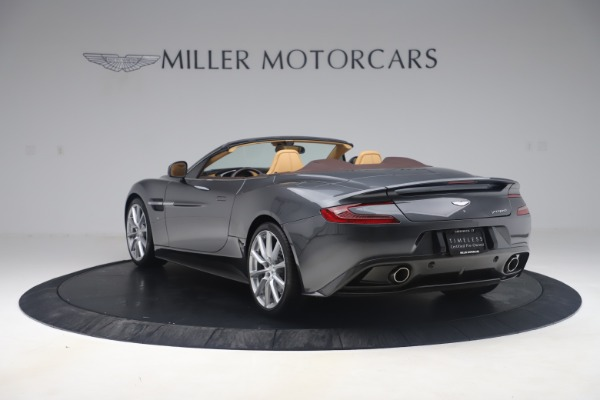 Used 2016 Aston Martin Vanquish Volante for sale Sold at Alfa Romeo of Greenwich in Greenwich CT 06830 4