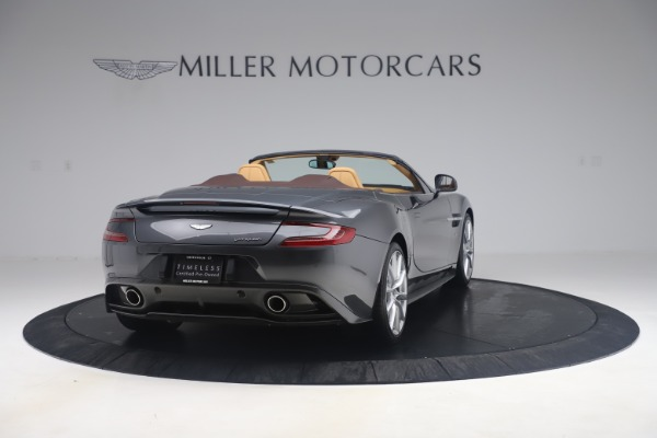 Used 2016 Aston Martin Vanquish Volante for sale Sold at Alfa Romeo of Greenwich in Greenwich CT 06830 6