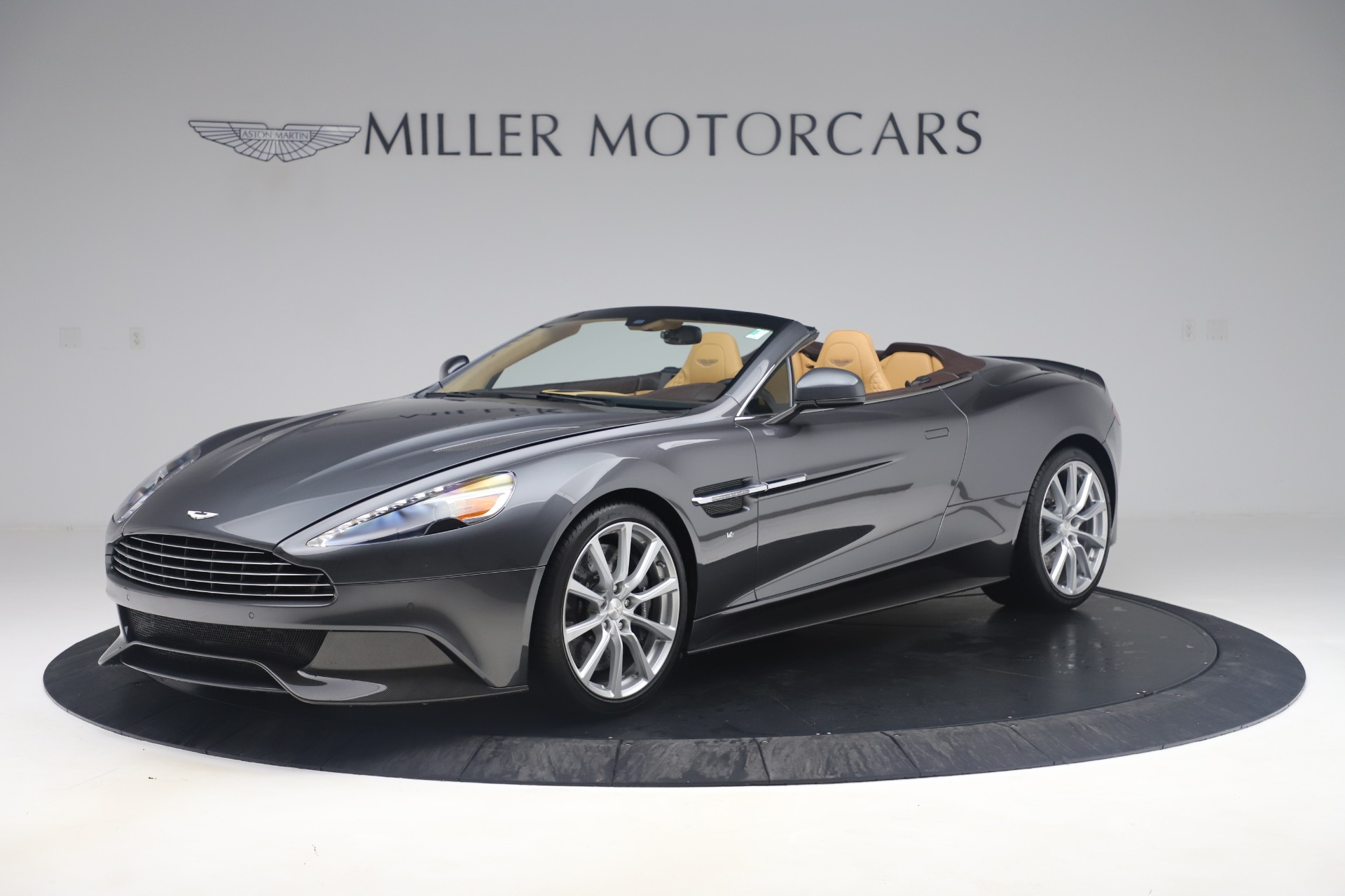 Used 2016 Aston Martin Vanquish Volante for sale Sold at Alfa Romeo of Greenwich in Greenwich CT 06830 1