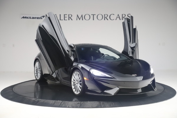 Used 2017 McLaren 570GT Coupe for sale $149,900 at Alfa Romeo of Greenwich in Greenwich CT 06830 11