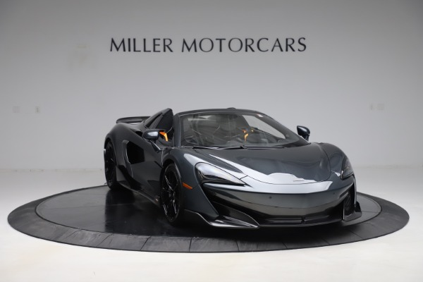 Used 2020 McLaren 600LT SPIDER Convertible for sale $249,900 at Alfa Romeo of Greenwich in Greenwich CT 06830 10