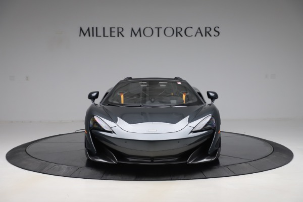 Used 2020 McLaren 600LT SPIDER Convertible for sale $249,900 at Alfa Romeo of Greenwich in Greenwich CT 06830 11