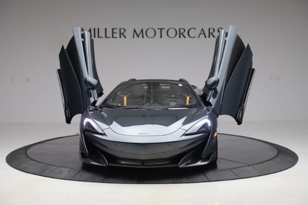 Used 2020 McLaren 600LT SPIDER Convertible for sale $249,900 at Alfa Romeo of Greenwich in Greenwich CT 06830 12